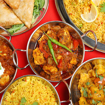 Indian and Nepalese Food